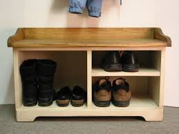 largesize of magnificent oak wood material also rotating shoe rack along with entry room