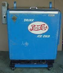 In Working Order As A Vending Machine Inspiration VINTAGE PEPSI COLA Vending Machine Cooler Working Condition Pepsi