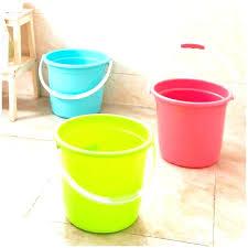 garden bucket. Garden Buckets Water Bucket For Household Queen Thickening Portable Plastic Of Washing