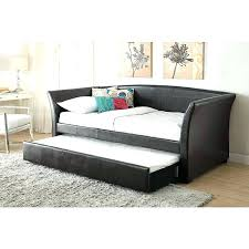 sears bedroom furniture faux leather trundle daybed sold separately pertaining to bed frames canada full