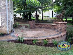 Raised paver patio Outdoor Independence Landscape Lawn Care Patio Gallery Independence Landscape Lawn Care