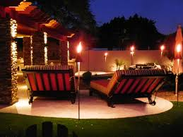 tiki lighting. Photo Of Becker Electric - Scottsdale, AZ, United States. Tiki Torch Low  Voltage Tiki Lighting