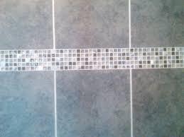 grey bathroom tile imagine blue accent tile