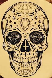 Sugar Skull Tattoo T мексиканские черепа идеи для татуировок и