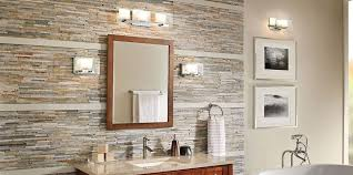 Modern bathroom lighting ideas Led Bath And Vanity Lighting Kichler Lighting Modern Bath Lighting Traditional Vanity Light Inspirations