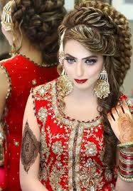 2016 bridal makeup and hairstyle free makeup on indian wedding and
