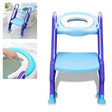 Der toilettensitz ist rein nur eine auflage, sprich verkleinerung, die auf die toilettenbrille gelegt wird. Toilettentrainer Fur 1 7 Kinder Toilette Toilettensitz Mit Treppe Wc Sitz Sitz Ebay