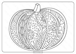 Pumpkins, jack o lanterns, food and more click from the pumpkins coloring pictures below for the printable pumpkin coloring page. Free Printable Pumpkin Coloring Page