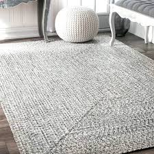 8 square rug amp rowan handmade grey braided area rug 8 ft square outdoor rug
