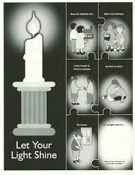 Let Your Light Shine Lds Primary Happy Clean Living Primary 2 Lesson 29 Primary Ideas