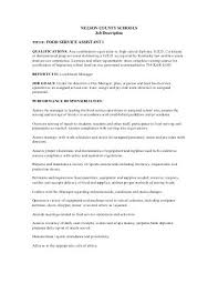 name job description banqueting assistant reports to food    job description   food service assistant i   nelson county school
