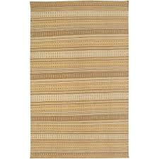 rizzy home twist brown 8 ft x 10 ft striped area rug