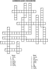 18 Educative Chemistry Crossword Puzzles | Kitty Baby Love