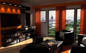 Orange And Brown Living Room Accessories Attractive Design Orange And Brown Living Room Ideas 7 Simple