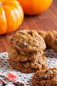soft and moist like a tiny in top these pumpkin chocolate chip cookies include