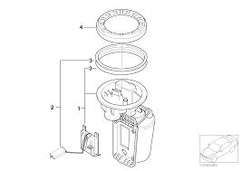 Realoem online bmw parts catalog fuel pump and fuel level sensor mini cooper fuel pump diagram