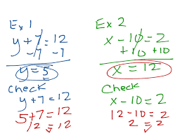 most viewed thumbnail one step equations with addition and subtraction