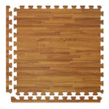 soft wood interlocking foam tiles