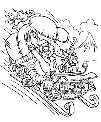 The Grinch Coloring Pages Ayushseminarmahainfo