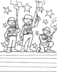 Thank You Military Coloring Pages Books Free Online Spouse Veterans