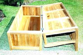 wood deck bench storage boxes benches plan with how to build a find out buil