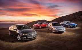 2016 Chevrolet Malibu vs. 2016 Honda Accord, 2016 Mazda 6, 2016 ...