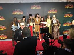 red carpet premiere of samson sight sound theatres lancaster county pa