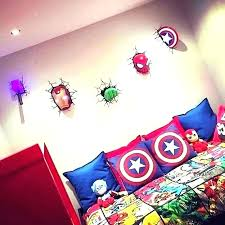 Gallery Of Marvel Room Ideas Avengers Modern Decorating Incredible Decor  Local 9 Themed .