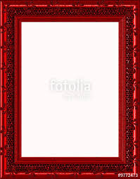 Red Photo Frames