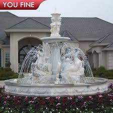 natural stone carving garden marble water fountain sale water fountains for sale81