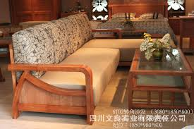 small corner sofa living. Small Floral Oak Wood Sofa Corner Living Room