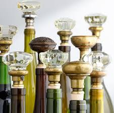 view in gallery glass doorknob wine stopper