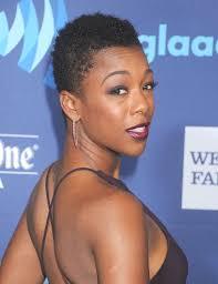 Fashion African Short Hair Cut Good Looking Natural Black Women