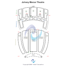 Johnny Mercer Theatre Seating Chart