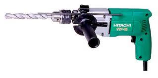 hitachi hammer drill. hitachi-vtp18enl-1 hitachi hammer drill