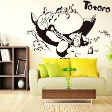 anime wall decals as well as vinyl wall decal cartoon wall sticker kids bedroom living room anime sticker home decorative decoration in wall stickers from