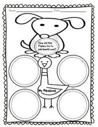pigeon wants a puppy mon core story activities freebie