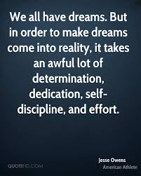 Making Dreams A Reality Quotes Best of Jesse Owens Dreams Quotes QuoteHD