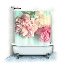 pink and teal shower curtain peony shower curtain like pink zoom hot pink and turquoise shower