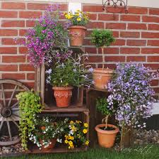 Deko Mit Alten Obstkisten Flowers Garden Pinterest