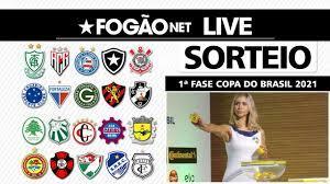LIVE | Sorteio da 1ª fase da Copa do Brasil 2021 + Análise do Moto Club,  adversário do Botafogo - YouTube
