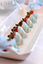 Blue Chocolate Covered Strawberries For Baby Shower 690000jpg Baby Shower Chocolate Strawberries