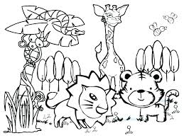 Coloring Animal Pages For Printing Printable Farm Animals Coloring