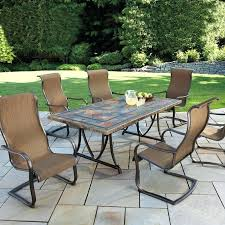 costco round table brilliant outdoor furniture round patio table within fire pit patio set ideas costco