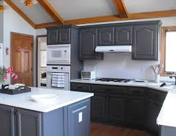 cabinet refacing vs painting. Fine Painting Oak Cabinets Before Painting Painted Kitchen  In Cabinet Refacing Vs B