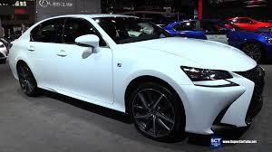 2016 lexus gs 350 f sport awd exterior and interior walkaround 2016 new york auto show you