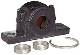 split pillow block bearings. nsk saf518 split pillow block housing, 2 bolts, non-expanding, labyrinth seals bearings l