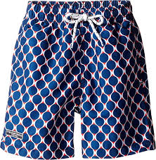 Toobydoo Size Chart Amazon Com Toobydoo Baby Boys Navy And Red Swim Shorts