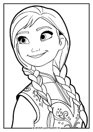 Anna Kleurplaat Cindy Nicolai Frozen Coloring Pages Frozen