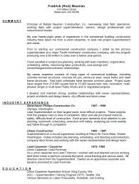 Seattle Community College Woodworking Elegant Carpenter Resume